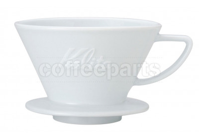 Kalita Ceramic Wave Coffee Dripper 185