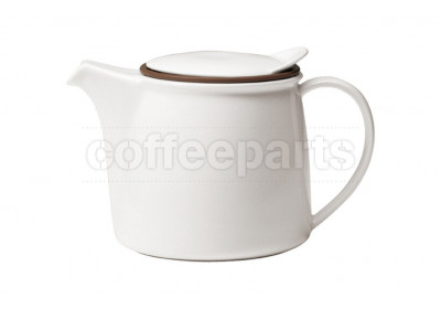 Kinto Brim Porcelain Teapot 450ml : White