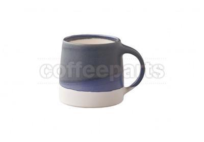 Kinto 320ml Porcelain Mug : Navy and White