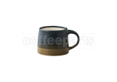 Kinto 110ml Porcelain Mug : Black and Brown