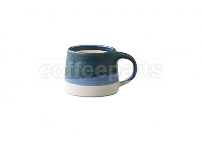 Kinto 110ml Porcelain Mug : Navy and White