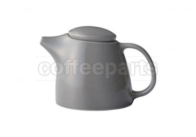 Kinto Topo Porcelain Teapot 400ml : Grey