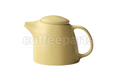Kinto Topo Porcelain Teapot 400ml : Yellow