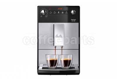 Melitta Purista Fully Automatic Coffee Machine: Silver