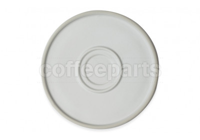 Mocu Saucer, set of 2 - White