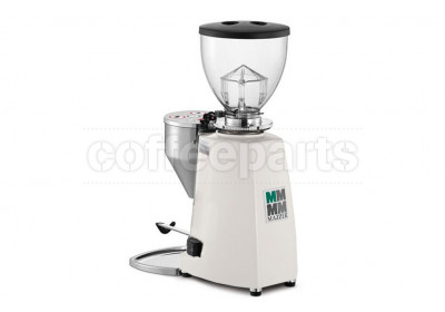 Mazzer Mini Electronic (Type A) Home Coffee Grinder: Pure White