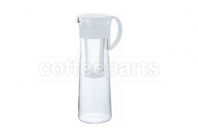 Hario Mizudashi 1lt Cold Brew Slow Coffee Pot: White