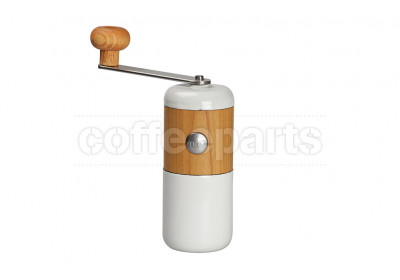 Milco White coffee hand grinder - Double