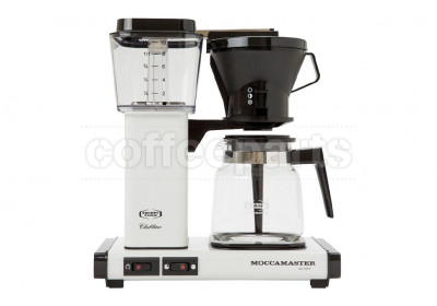 Moccamaster 1.25lt Classic White Filter Coffee Machine