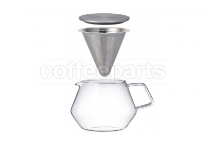 Kinto 600ml Carat Glass Teapot