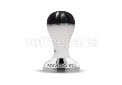 Pesado 58.5mm Coffee Tamper : White and Black Modular
