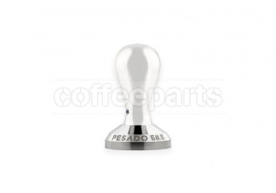Pesado 58.5mm Coffee Tamper w/ White Handle
