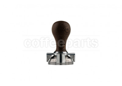 Pesado 58.5mm wenge tamper with depth adjuster