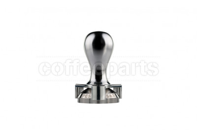 Pesado 58.5mm white tamper with depth adjuster