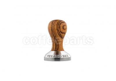 Pesado 58.5mm Coffee Tamper w/ Zebrano Handle