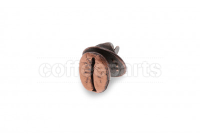 Coffee beans pin – bronze
