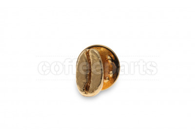Coffee beans pin – gold