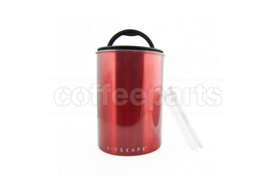 Airscape Medium Classic Coffee Storage Vault : Red