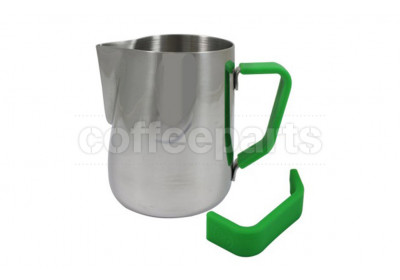 Rhino Coffee Gear Green Silicone Milk Jug Grip : Small