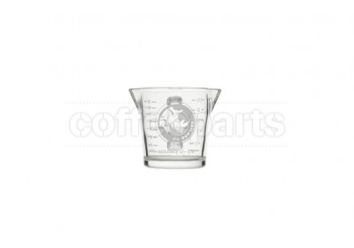 Rhinowares Double-Spouted Shot Glass with Handle