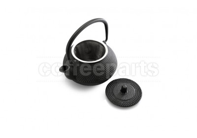Black Hobnail Cast Iron Teapot 300ml
