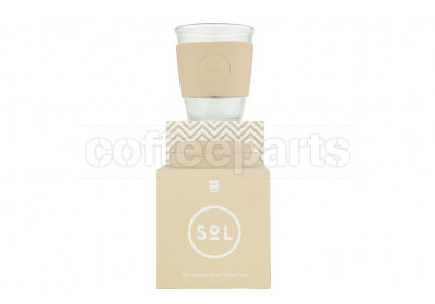 SoL 12oz Coastal Cream Reusable Cup
