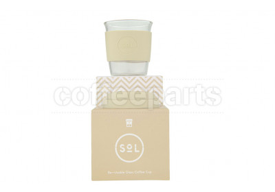 SoL 8oz Coastal Cream Reusable Cup