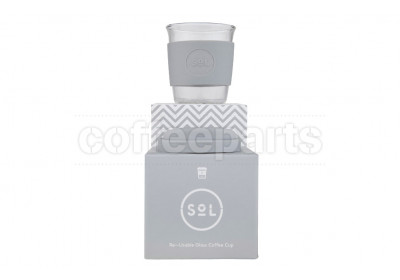 SoL 8oz Cool Grey Reusable Cup
