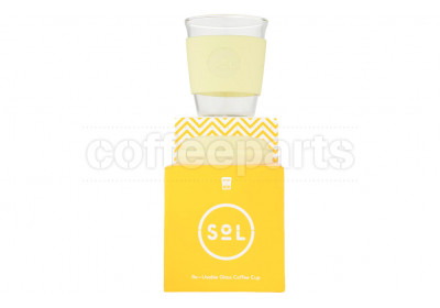 SoL 12oz Yummy Yellow Reusable Cup