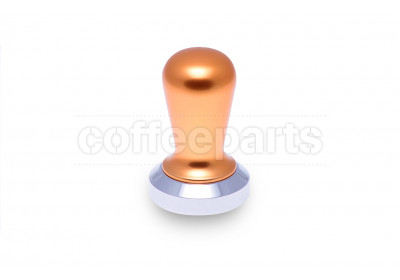 Coffee Parts Professional 49mm flat tamper – gold