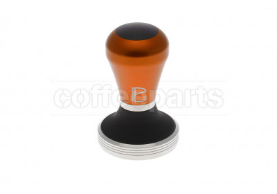 Pullman Barista 58.3mm Flat with Tiger Orange Handle