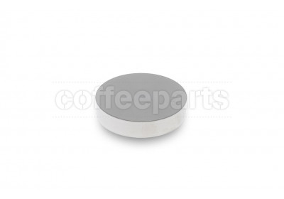 Reg Barber 58.5mm tamping base only: stainless flat