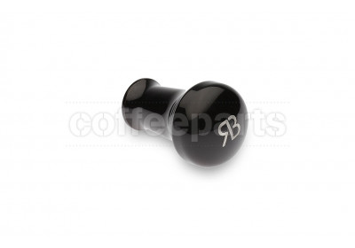 Reg Barber tamper handle only: powder coated black