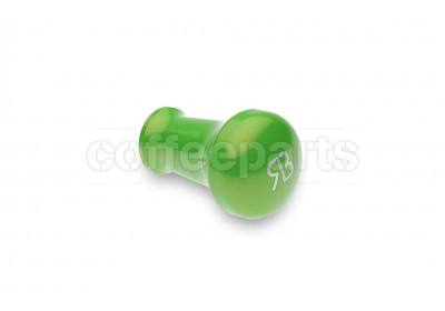 Reg Barber tamper handle only: powder coated lime