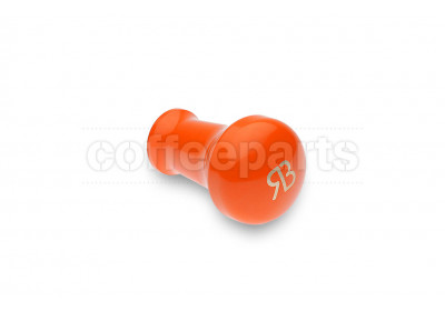 Reg Barber tamper handle only: powder coated orange