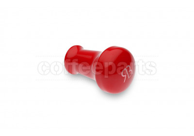 Reg Barber tamper handle only: powder coated red