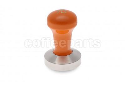 Reg Barber 58.3mm tamper with powder coated orange handle