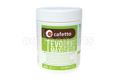 Cafetto Tevo Maxi Organic Espresso Coffee Machine Group Cleaning Tablets : 150 Tablets