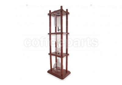 Tiamo 750ml Coffee Cold Drip with Brown Frame - HG2713