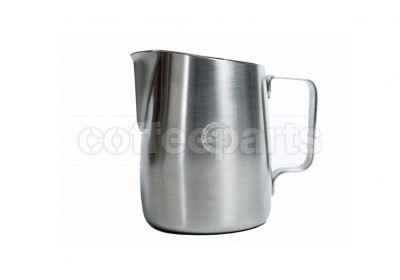 Tiamo Tapered Brushed Milk Jug