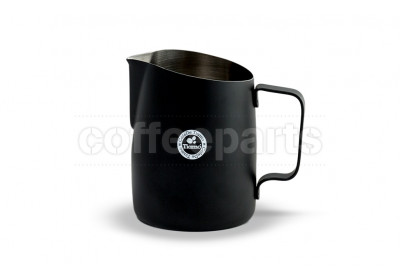 Tiamo Tapered 650ml Milk Jug Black