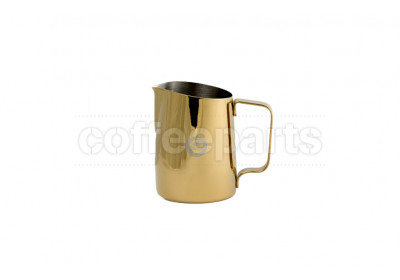 Tiamo 450ml Tapered Metallic Gold Milk Jug