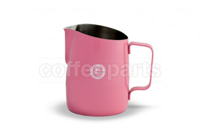 Tiamo Tapered 650ml Milk Jug Pink