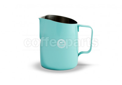 Tiamo Tapered 650ml Milk Jug Teal