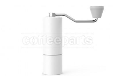 Timemore Chestnut C1 (S/S Blades) Hand Coffee Grinder: White