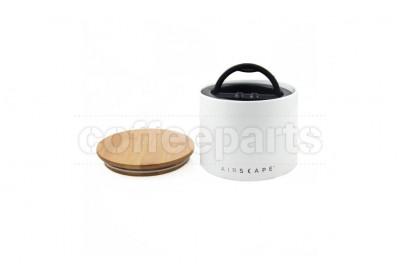 Airscape Small Ceramic Coffee Storage Vault : White