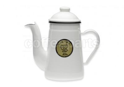 Kalita Pelican Pourover Pot 1lt - White