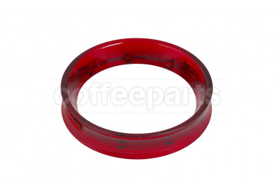 Wormhole Red Magnetic Coffee Dosing Funnel to fit 58mm baskets