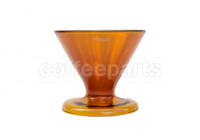 Yield Design Amber Glass Coffee Dripper