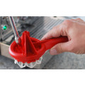 Espazzola Red Coffee Machine Cleaning Brush